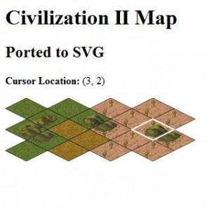 SVG - Civilization II: Screenshot